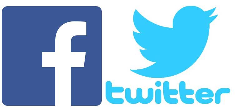 FOLLOW US ON FACEBOOK AND TWITTER